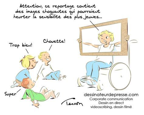 education enfant illustration humour handicap dessinateur de presse et