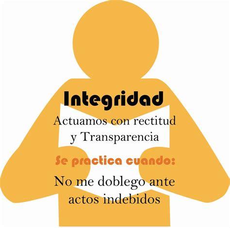 vivir con integridad y integridad de la persona