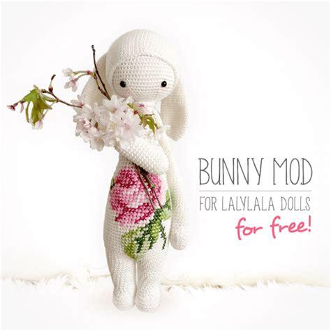 free pattern lalylala free lalylala bunny modification pattern crochet