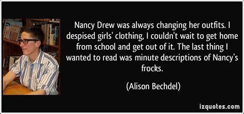 nancy drew was always changing i desp by
