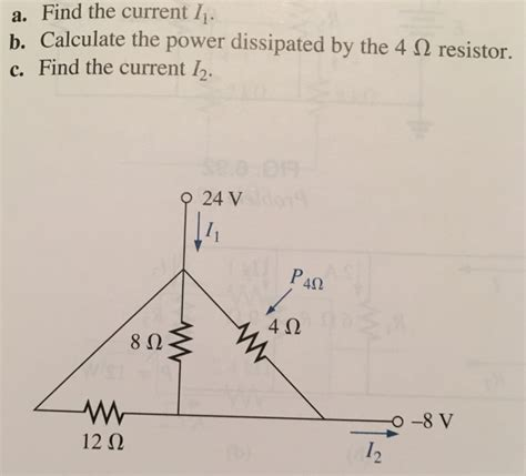 determine the power dissipated by the 40 ohm resistor a find the current i b calculate the power dissi chegg