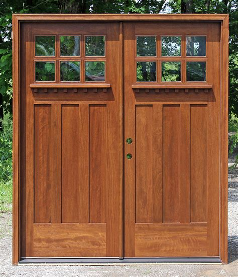 Nickbarron Co 100 Exterior Double Entry Doors Images Front Door Craftsman Style