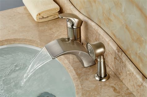 bathtub faucets with sprayer bathtub faucet sprayer attachment rmrwoods house fix a