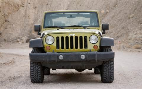 Jeep Front 2008 Jeep Wrangler Rubicon Front View Photo 40
