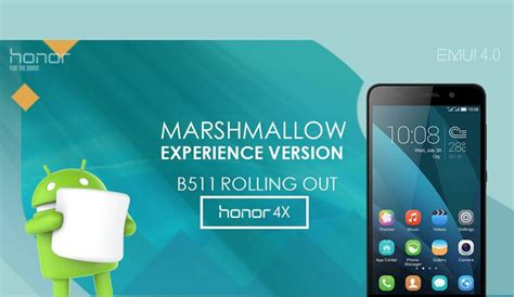 marshmello in india android marshmallow update for honor 4x rolled out in india