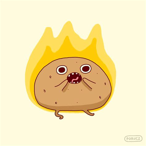 funny hot potato gif hot potato cartoon images cartoon ankaperla