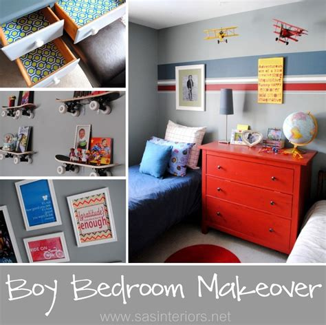 boy bedroom makeover reveal jenna burger