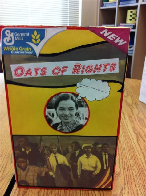 cereal box biography book report 10 images about cereal box ideas on research