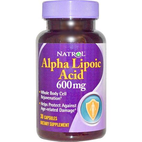 r ala supplement reviews natrol alpha lipoic acid 600 mg 30 capsules iherb