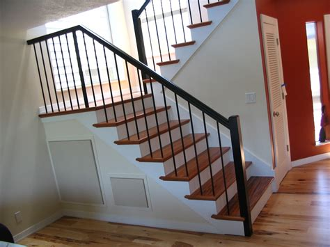 Iron Stair Parts Wrought Iron Stair Spindles With Simplistic Stair Parts