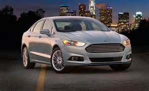 2013 Ford Fusion S Car And Driver