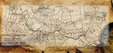 maps of the oregon trail books