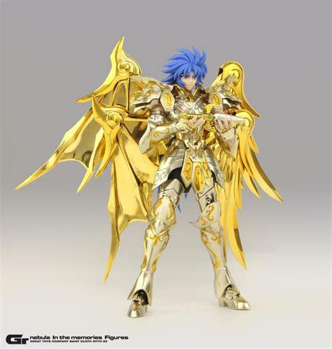 Cloth Myth in stock great toys gemini saga soul of gold armor seiya myth cloth ex sog