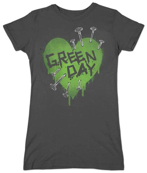 Tshirt Nirvana Aulia Mest Product juniors green day nail bluse p 229 allposters dk