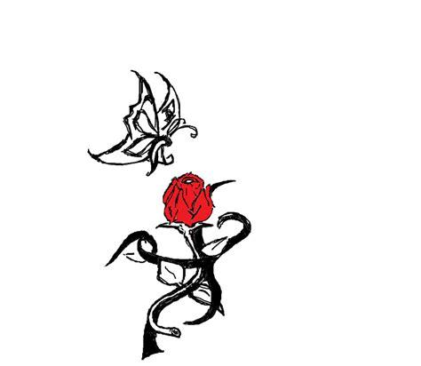 tattoo design rose tribal tribal rose tattoo design clipart best clipart best