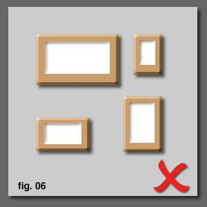 picture hanging tips how to hang and align pictures correctly on a wall