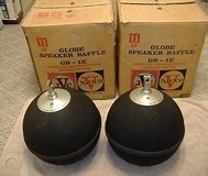 Image result for JVC Nivico Globe Speakers. Size: 189 x 160. Source: www.worthpoint.com