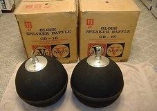 Image result for JVC Nivico Globe speakers