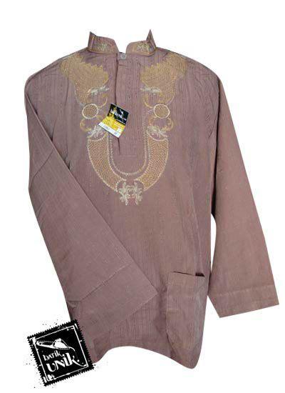 Baju Koko Panjang Aplikasi baju batik koko exclusive aplikasi bordir kemeja lengan