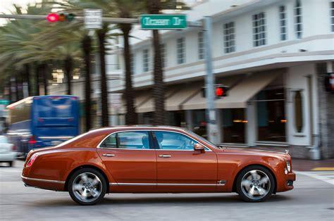 bentley mulsanne speed orange 2015 bentley mulsanne speed first drive motor trend