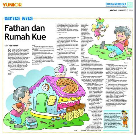 cara membuat cerpen anak cerita anak di koran suara merdeka rosimeilani com