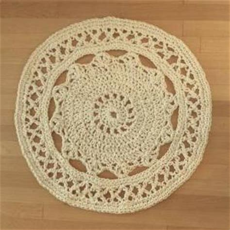 cotton rope crochet rug cotton rope rug on luulla