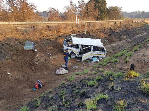 people  injured  morning  taxi rolled   vanderbijlpark
