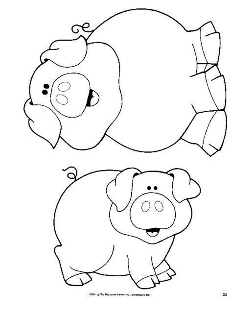 imagenes para colorear animales de la granja dibujos para colorear de los animales de la granja imagui