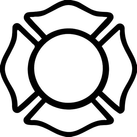 fire clipart maltese cross pencil and in color fire