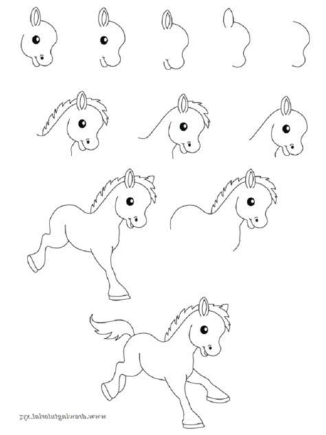 Drawing Step By Step Easy Animals by How To Draw Easy Animals Step By Step Image Guide