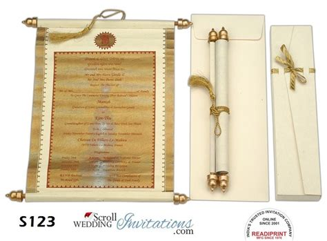 scroll wedding invitations in new york 17 best images about scroll invitation cards on tassels paper and silver bars