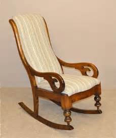 Rocker Glider Chair Upholstered Rocking Chair 167048 Sellingantiques Co Uk