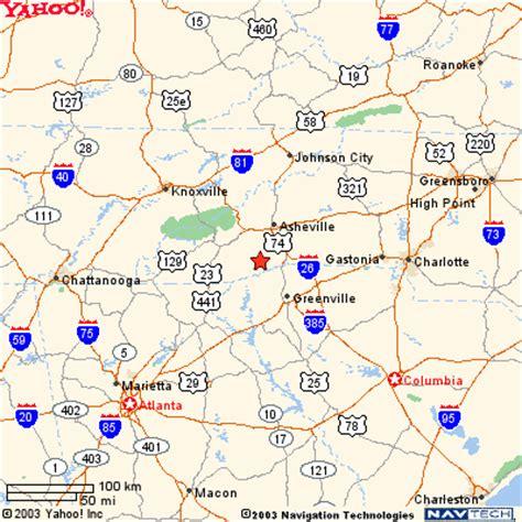map of nc and surrounding area brevard carolina map swimnova