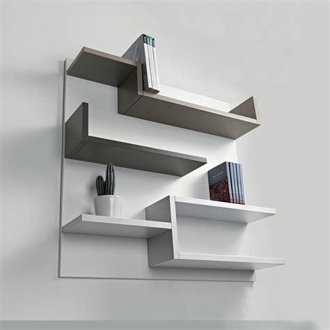 libreria a muro in legno libreria a muro myshelf pezzani in legno 100 x 100 cm