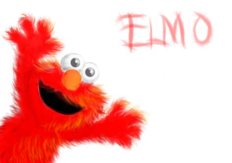 painting elmo elmo by xd boiix on deviantart