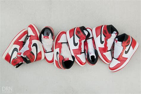Original Air I Og Chicago 2013 air 1 og chicago 1985 2015 comparison sneaker bar