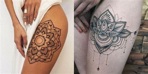 tattoo mandala coxa tatuagem na coxa archives timidamente