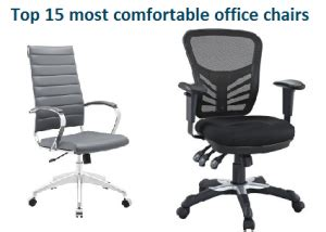 what is the most comfortable office chair top 15 most comfortable office chairs in 2017 officegearzone