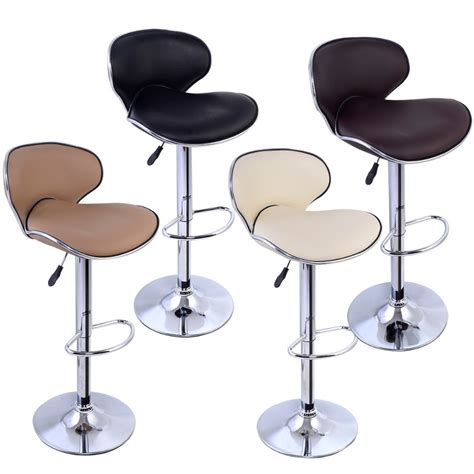 Modern Swivel Bar Stools by Free Shipping Modern Adjustable Barstool Bar Chair Swivel Pu Leather Hydraulic Bar Stool