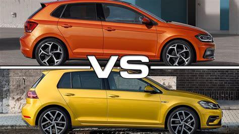Volkswagen Polo Vs Golf by 2018 Volkswagen Polo Vs 2018 Volkswagen Golf