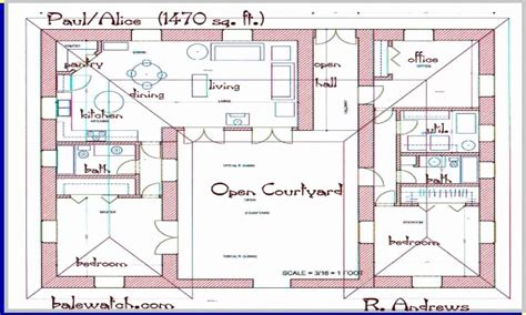 h shaped house floor plans awesome one story h shaped house plans house plan