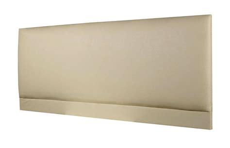 cream leather headboard raffles faux leather headboard