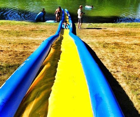 how to make a water slide in your backyard how to make a water slide water damage los angeles