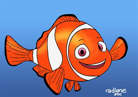 draw painting nemo drawing in ms paint by radexopoblete on deviantart