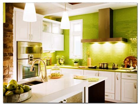 Kitchen Wall Colour by Green Kitchen Ideas Quicua