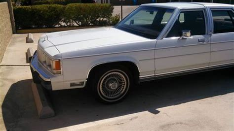 repair anti lock braking 1991 ford ltd crown victoria parental controls buy used 1991 ford ltd crown victoria lx sedan 4 door 5 0l in palm desert california united