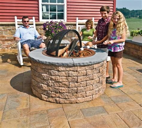 Outdoor Firepit Kit Bloombety Outdoor Pit Kits With Walls The Best Materials For Outdoor Pit Kits