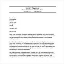 Resume Covering Letter Sles Free by 10 Resume Cover Letter Templates Free Sle Exle