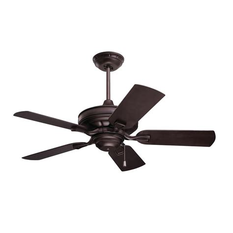 ceiling fans for exterior use troposair mustang 18 in oscillating rubbed bronze indoor
