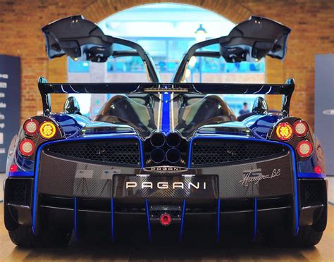 pagani back special pagani huayra bc macchina volante delivered to